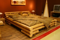 Highlight for Album: Bamboo bedroom furniture-The bamboo bed for a nature feeling at home