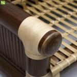 Bambusmöbel - Rattanverbindung