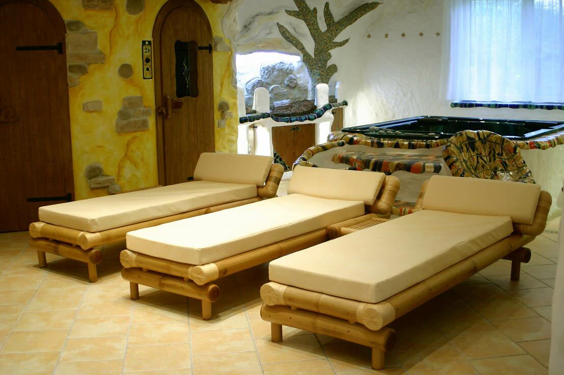 Bambus-Relaxliegen/Wellnessliegen / Saunaliegen WAIKIKI :: 12