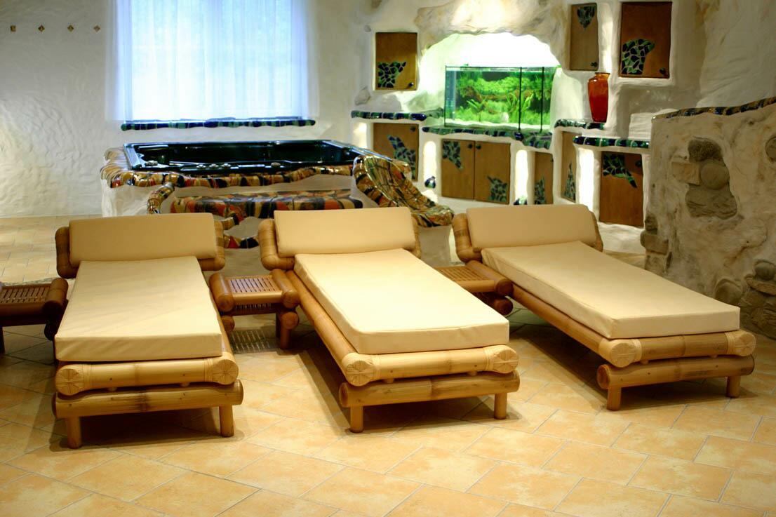 Bambus-Relaxliegen/Wellnessliegen / Saunaliegen WAIKIKI :: 8