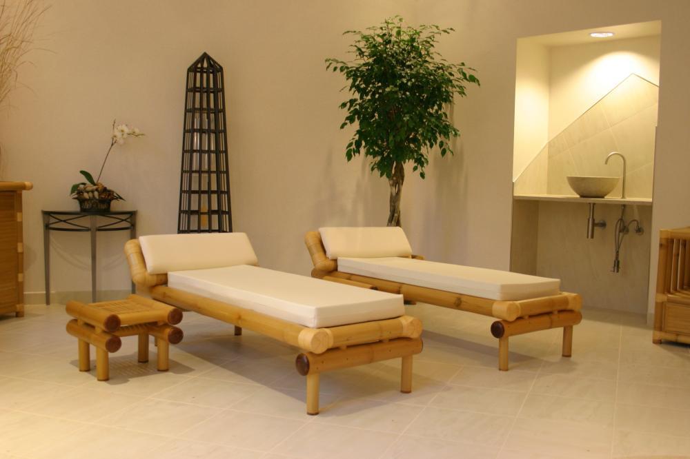 Bambus-Relaxliegen/Wellnessliegen / Saunaliegen WAIKIKI :: 6