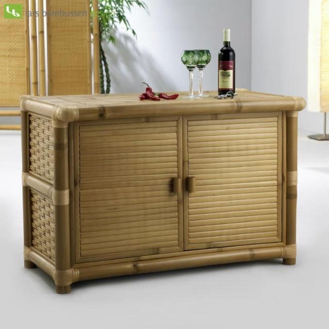 комод из бамбука