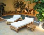 Titelbild des Albums: Bambus-Relaxliegen/Wellnessliegen / Saunaliegen WAIKIKI
